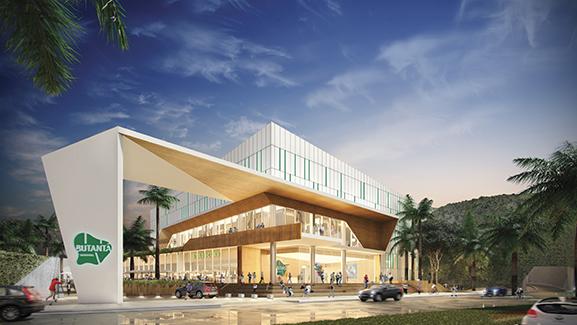 Butanta shopping facade carrefour property division brazil sao paulo