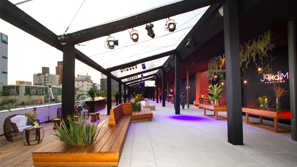 Jardim Pamplona shopping roof top terrace sao paulo brazil