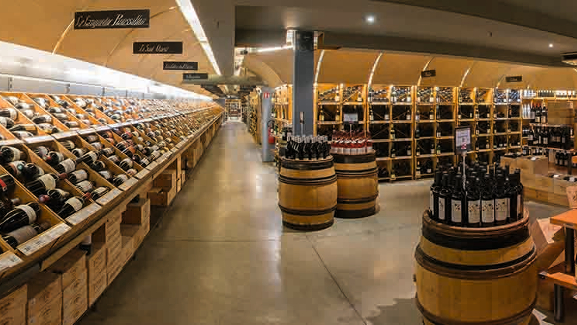 Carrefour-Property Division Belgium ROB wine cellar