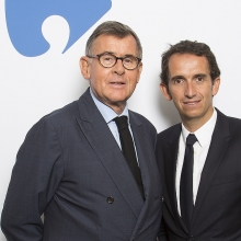 Georges Plassat and Alexandre Bompard new Carrefour CEO